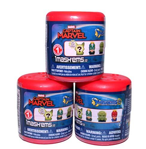 Mashems Captain Marvel Series 1 ( 3 Pack)