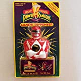 Vintage 1993 Might Morphin Power Rangers Candy Dispenser- Red Ranger