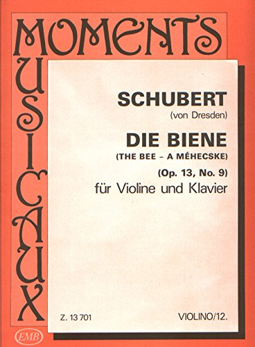 La abeja Opus.13,9: para violín y piano: Amazon.es: Instrumentos musicales