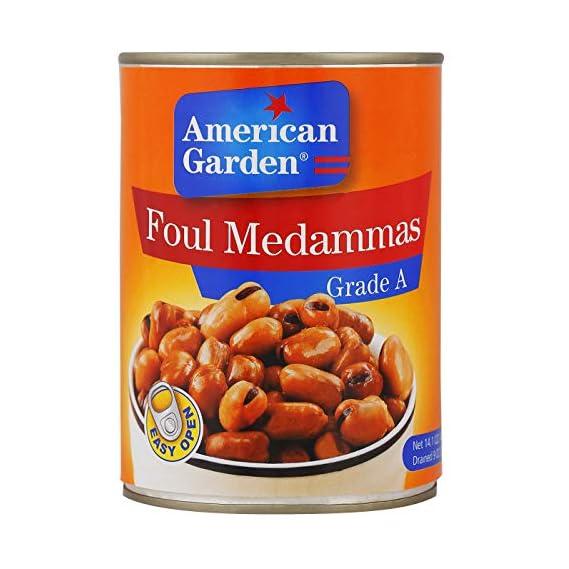 American Garden Foul Medammes Grade A, Fava Beans, 400 g