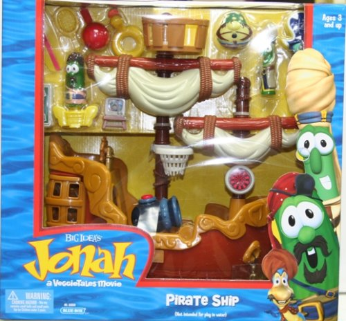 Amazoncom Veggietales Jonah Pirate Ship Playset Other Products