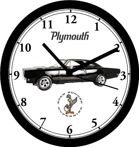 amazon 1968 plymouth roadrunner wall clock free usa ship home 1961 Plymouth Belvedere amazon 1968 plymouth roadrunner wall clock free usa ship home kitchen