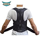ZSZBACE Back Brace Posture Corrector Clavicle Support Brace Medical Device to Improve Bad Posture, Thoracic Kyphosis, Shoulder Alignment, Upper Back Pain Relief for Men and Women (M)