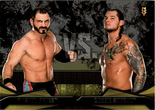 2016 Topps WWE Then Now Forever NXT Rivalries #9 Baron Corbin vs. Austin - Aries Burbank