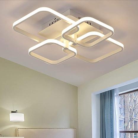 43W Lámpara de sala de estar Plafones LED techo Regulable ...