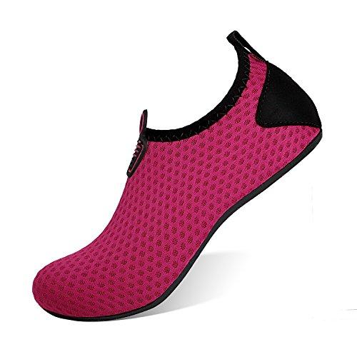 Sports Dry Swim Water Men Swim Women Aqua Shoes purple Barefoot Quick Dot Socks Beach Heeta Shoes for x5O0qgnqwR