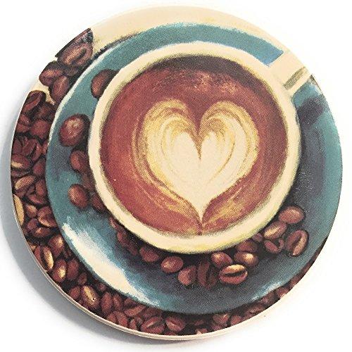 G Mornin Coffee Ceramic Stone Drink Coasters with Round  : 51b2BTji3ZaL from www.desertcart.ae size 500 x 500 jpeg 62kB