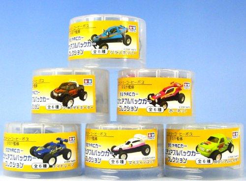 タミヤRCカーミニチュアプルバックカーコレクション ボス缶コーヒー黄色(全6種フルコンプセット) B0038LNY92