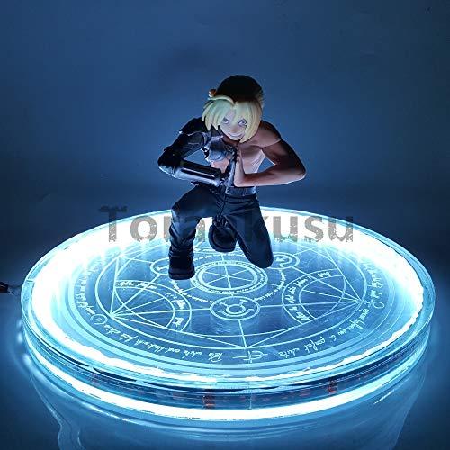 - Fullmetal Alchemist Edward Elric Led Magic Circle Action Figure Model Toy Anime Fullmetal Alchemist Figurine Led Changing+Remote