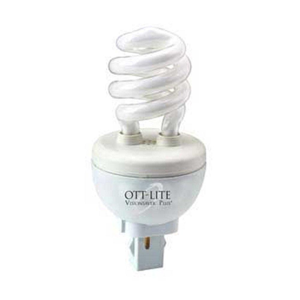OttLite B84J36 Plug In Swirl Compact Light Bulb 13 Watt Replacement Type K High Definition Natural Lighting Self-Ballasted Bulb
