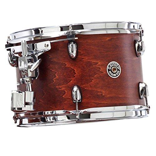 Satin Walnut Glaze Gretsch Drums Catalina Club CT1-0710T-SWG Drum Set Rack Tom