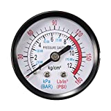 Electrical Gadgets & Tools - 1/4'' BSP Thread 0-180PSI 0-12Bar Air Pressure Gauge For Air Compressor Iron