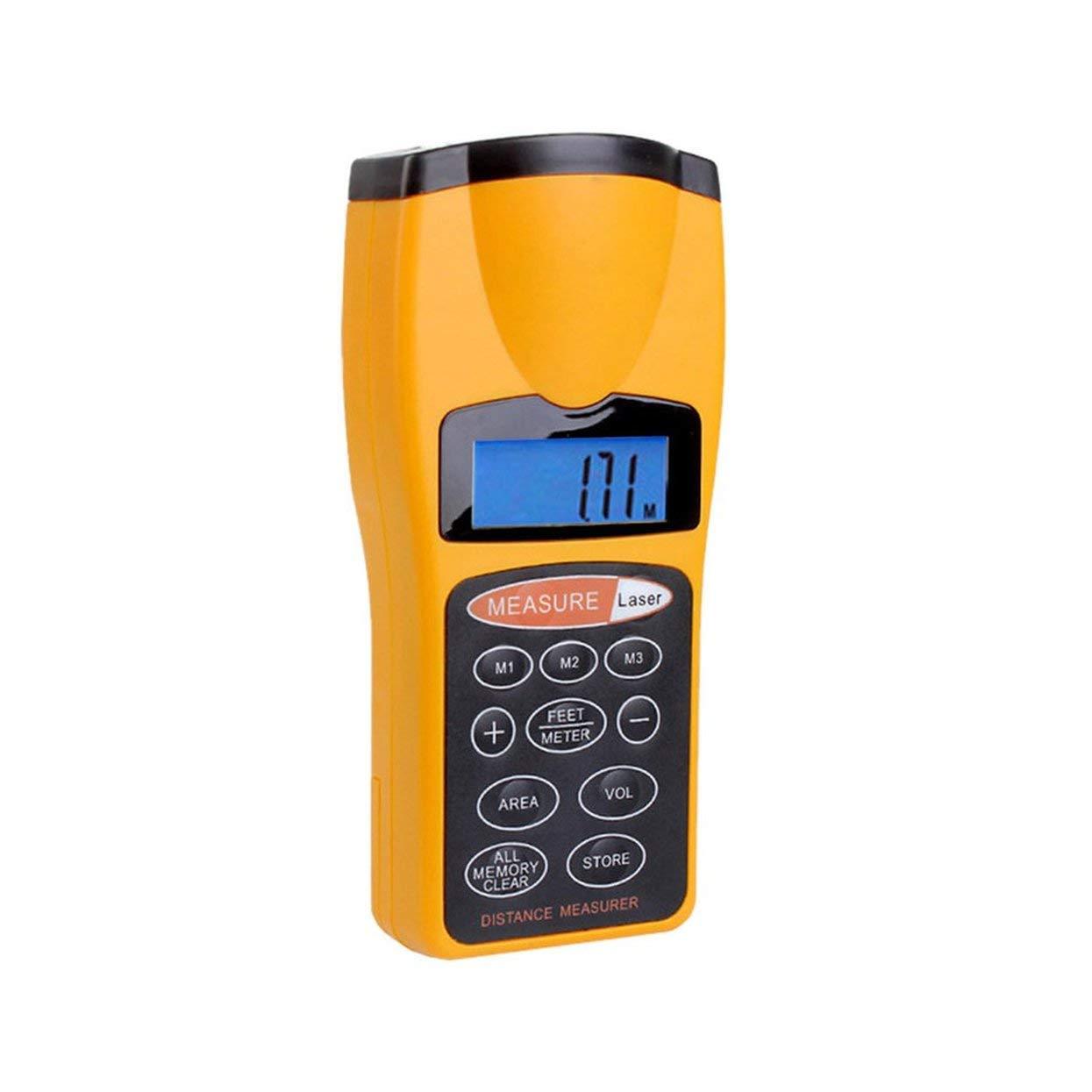 Tree-on-Life CP-3007 Multifonctionnel LCD Ultrasons Mesureur de Distance Mesureur de Distance avec pointeur Laser Maison T/él/ém/ètre num/érique
