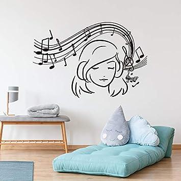 Creative Music is Who I am Wall Art Sticker Studio Musician Bedroom Decal Decor
