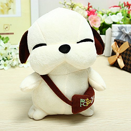 easyshop Nuevo perro encantador juguete de peluche perro canalla muñeca perro callejero coreano: Amazon.es: Juguetes y juegos