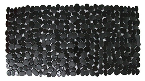 "JustNile 14"" X 28"" Creative Pebbles Non-Slip Safety Bath ..."