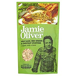 Jamie Oliver Stuffing Mix Sage, Onion & Chestnut (110g) - Pack of 6