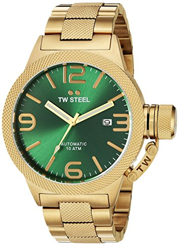 TW Steel Men's CB225 Analog Display Quartz Yellow Watch