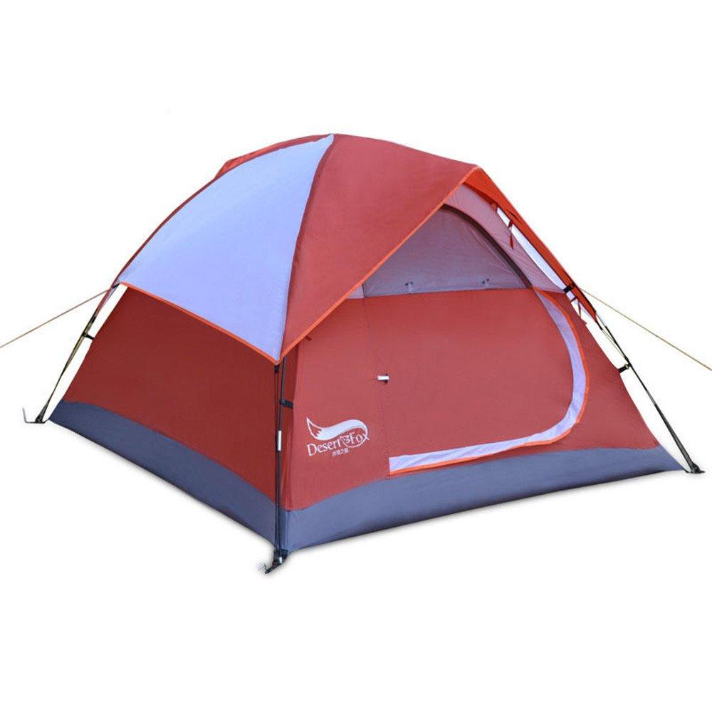 3-4人物頑丈なテント二重雨保護寝袋/組み立てが必要キャンプ用のハイキング用超軽量防水 B07C1KYHY7 B07C1KYHY7, HMV&BOOKS online 1号店:387bc670 --- ijpba.info