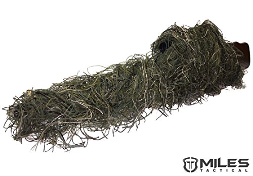 Miles Ghillie Rifle Wrap (Woodland)