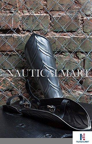 NAUTICALMART Larp Elven Steel Armor Bracers Halloween Costume -Pair by NAUTICALMART