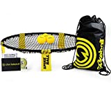 As Seen On Shark Tank This is for a COMBO MEAL!! 3 BALLS!! Spikeball is  an intense new game that is played 2 on 2. It's sort of a funky combo of  four square and volleyball. A taut Hula Hoop-sized net is placed at  ankle level between a pair of two-...