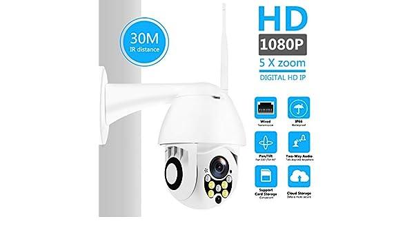 WiFi Cámara IP 1080P Ptz Cámara De Seguridad De Domo De ...