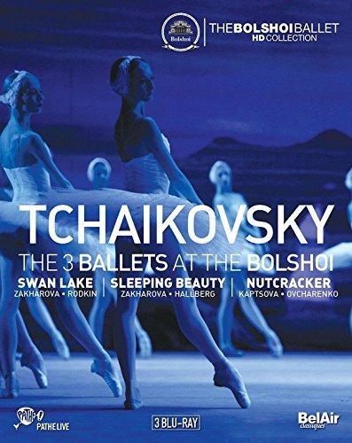 Tchaikovsky: The 3 Ballets at the Bolshoi [Blu-ray]