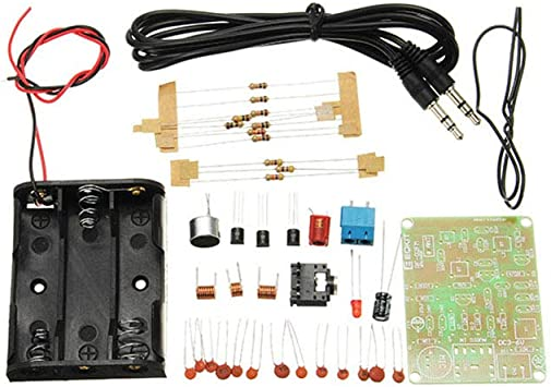 Kit de transmisor de FM RF一02 Partes de micrófono ...