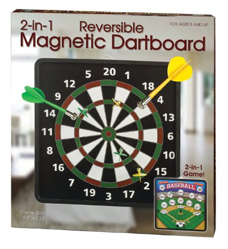 Review Westminster Reversible Magnetic Dartboard