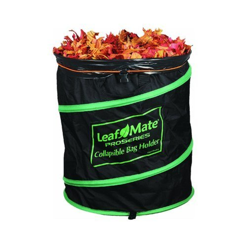 - Leafmate Collapsible Yard Bag Holder, Heavy Duty, Reusable Leaf and Lawn Waste Bag