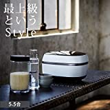 TIGER Earthen Pot Pressure IH Jar Rice Cooker'THE TAKITATE (THE freshly cooked)' 【GRAND X】 JPG-X100-WF (Frost White)【Japan Domestic genuine products】