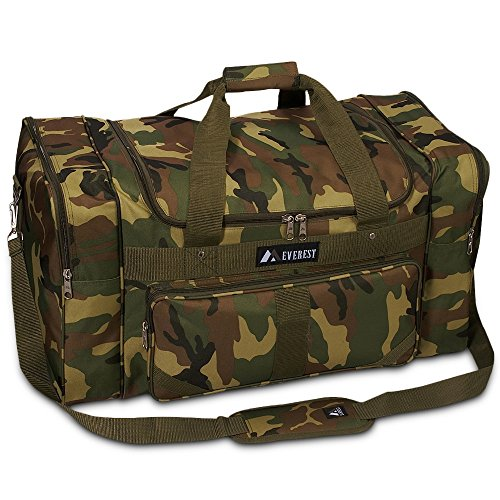 Everest Camo Duffel Bag Color: Jungle Camo