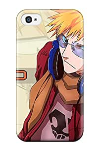 Sanp On Case Cover Protector For Iphone 4/4s (bleach All Characterss)