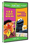 Sesame Street Double Feature: 123 Count With Me/Learning About Letters