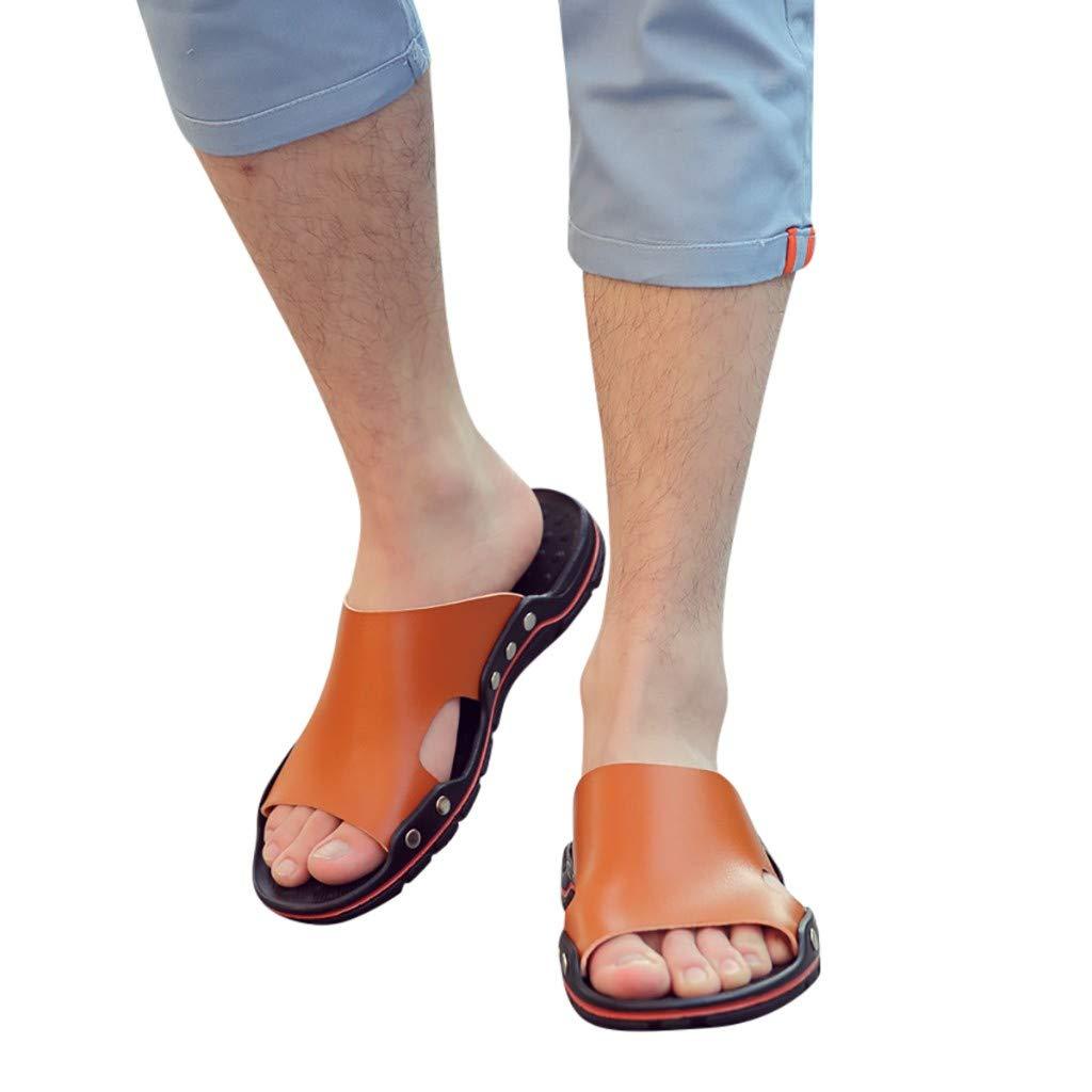 ESAILQ Zapatillas Casuales De Verano Sandalias Antideslizantes Zapatos Inferiores Suaves Y Transpirables