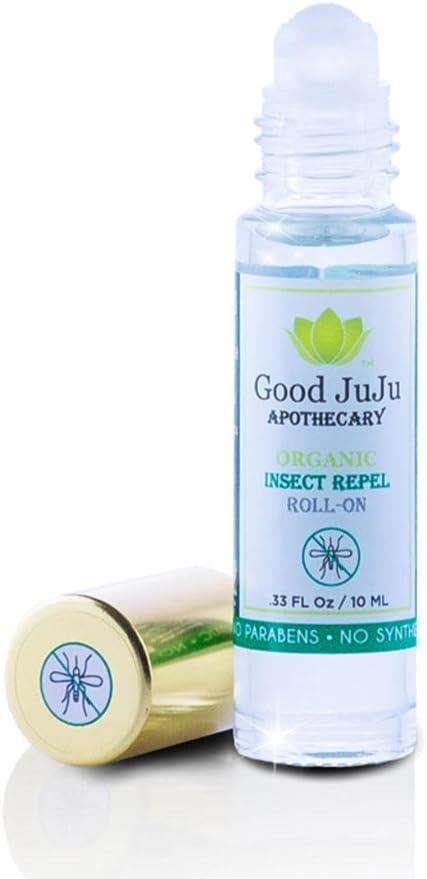 100% orgánico, Natural, Vegan roll-on repelente de insectos cuerpo ...