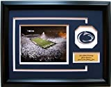 NCAA Penn State Nittany Lions Beaver Stadium Framed Landscape Photo with Team Patch and Nameplate