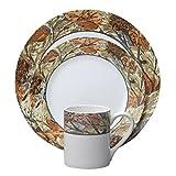 corelle leaf - Corelle Impressions Woodland Leaves 16-pc Dinnerware Set