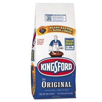 Kingsford Charcoal Briquets, 2x20lb - two 20-pound bags.