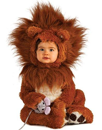 Rubie's Unisex-baby Infant Noah Ark Lion Cub Romper, Brown/Beige, 12-18 Months