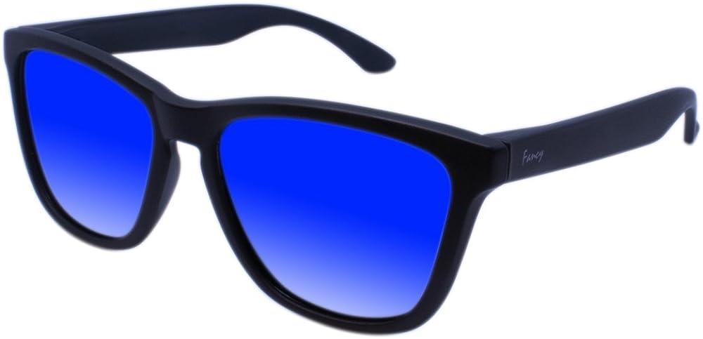 Gl/äser mit spezieller Technologie f/ür Kratzfestigkeit Herren und Damen verspiegelte Gl/äser 100/% UVA//UV 400 SCHUTZ Sonnenbrille Fancy Eyewear Polarisierte Gl/äser