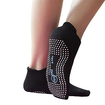 Amazon.com : 2 Pair New Arival Non Slip Yoga Socks - Anti ...