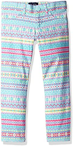The Children's Place Little Girls' Stretch Twill Jegging, Fair Isle Blue, 5