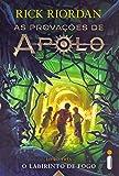 capa de O Labirinto de Fogo. As Provações de Apolo - Livro 3