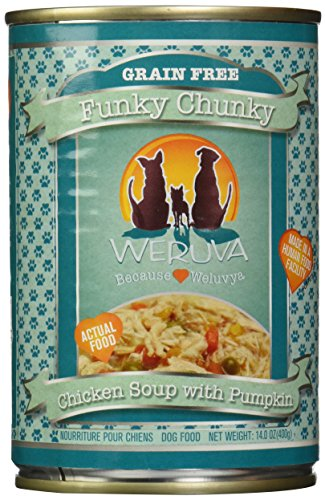 Weruva, Canned Dog Food, Funky Chunky Chicken Soup, 14 oz