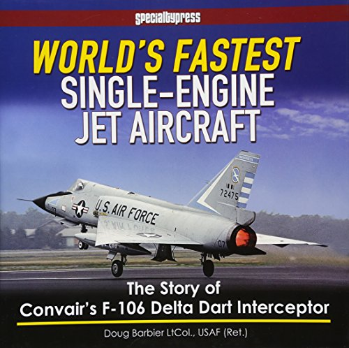 Single Engine Jet - World's Fastest Single-Engine Jet Aircraft: The Story of Convair's F-106 Delta Dart Interceptor