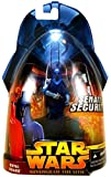Star Wars, Episode III Revenge of the Sith Action Figure, Royal Guard (Blue) #23, 3.75 Inches