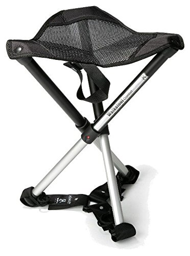 Walkstool Comfort Compact Stool Portable Folding Chair with Case and Stabilizer 18-30'' (22 inch) by Walkstool
