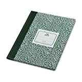 Wholesale CASE of 15 - Rediform Lab Composition Notebook-Lab Book,5''x5 Quad,96 Sh,10-1/8''x7-7/8'',Green Marble Cover